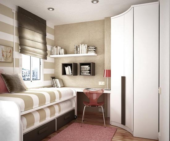 How to Furnish a Small Bedroom to Make It Look Bigger My Home