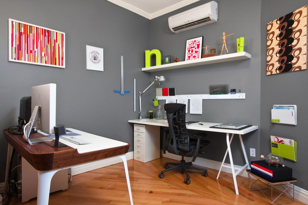 how to declutter your home office - my home repair tips